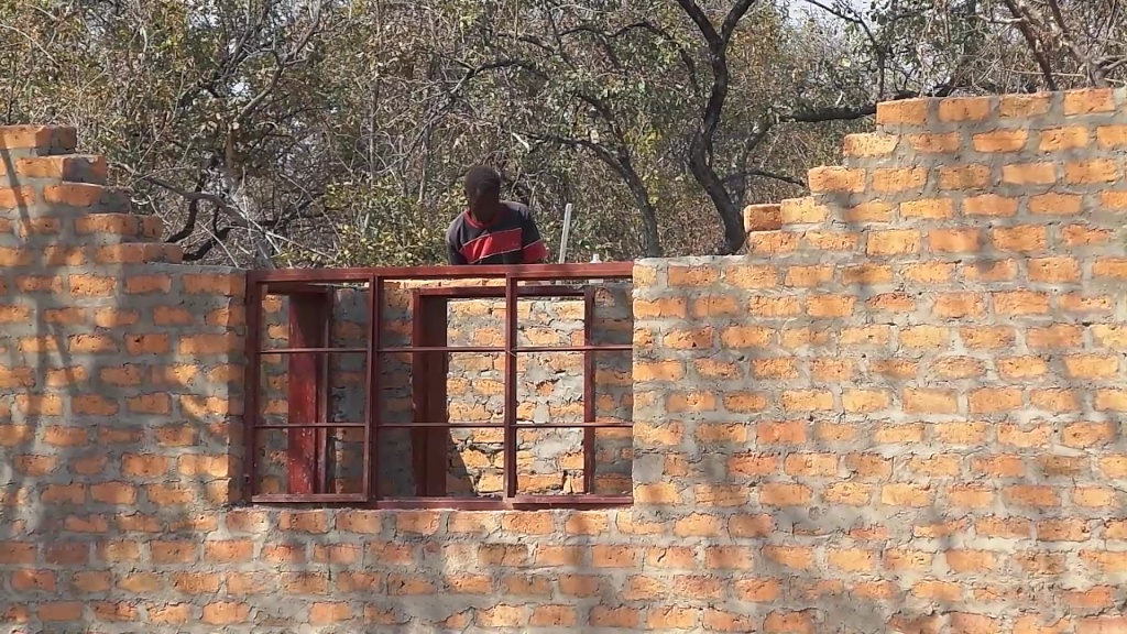 Thanks to funding from the UK the school will now have 2 homes for the teachers to live in.